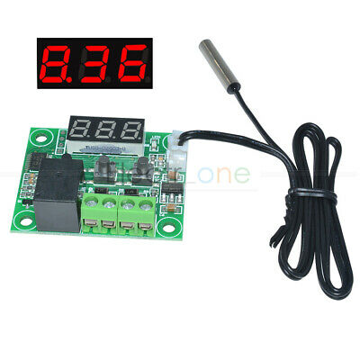 -50-110°C Red W1209 Digital Thermostat Temperature Control Switch Sensor DC24V
