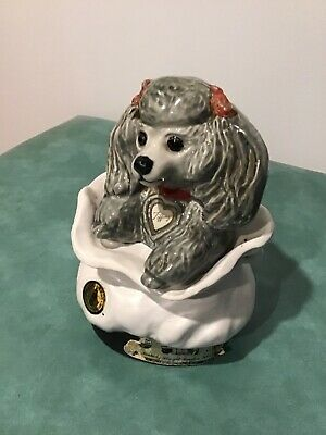 "Vintage Jim Beam Decanter Made In Usa 1973  ""Tiffany Toy Poodle"""