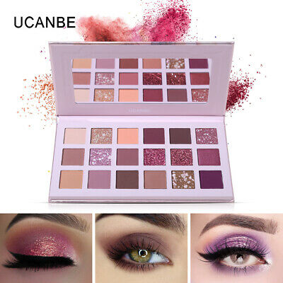 UCANBE Aromas Nude Eyeshadow Palette 18 Color Shimmer  Matte Glitter Eye Shadow