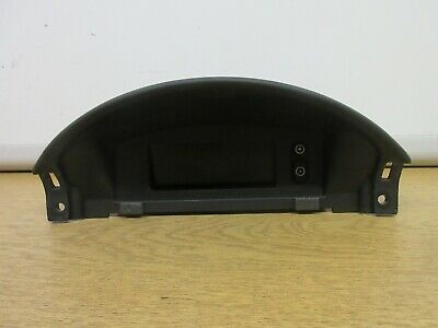 Vauxhall Corsa Sxi 16V 2001 Display Panel