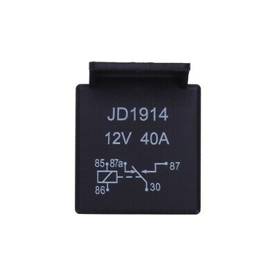 12V Volt 40A AMP 5 Pin Changeover Relay Automotive Car Motorcycle Boat Bike C6Z8