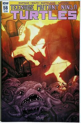 Teenage Mutant Ninja Turtles #58 TMNT - IDW Publishing - K Eastman M Santalouco