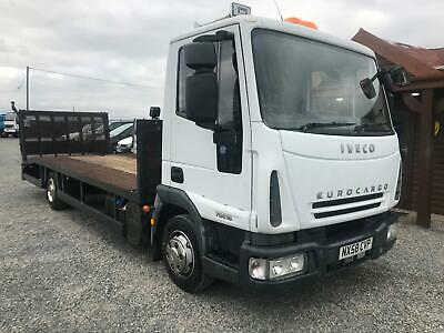 2008 Iveco Eurocargo Recovery Truck 7.5 tonn PLANT LORRY BEAVER TAIL MAY PX