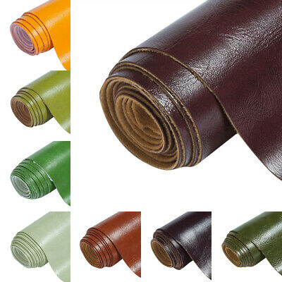 Faux Leather PU Leatherette Fabric Upholstery Vinyl DIY Bag Material 28 Colors