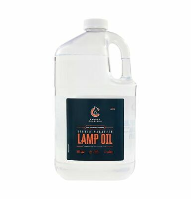Candle Charisma Paraffin Lamp Oil - 1 Gallon - Clear and Clean Burning - Unsc...