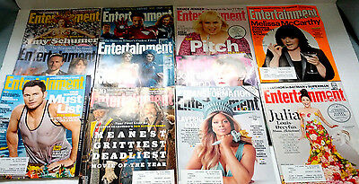 entertainment weekly 11 back issue lot the avengers sons of anarchy Chris Pratt