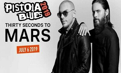 2 Biglietti Thirty Seconds To mars Pistoia