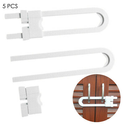 5-pack Child Baby Cupboard Cabinet Safety Locks Door Drawer Latch Lock