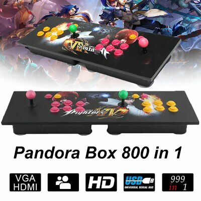 Pandora Box 5S 800 In 1 Double Stick Arcade Console HD 3D Video Game Gifts BR