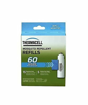 Thermacell Mosquito Repellent Refills, 60-Hour Pack; Contains 15 Repellent Ma...