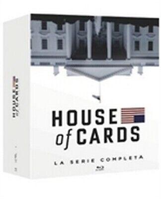 House of Cards - La Serie Completa - Stagioni 1-6 (23 Blu-Ray Disc)