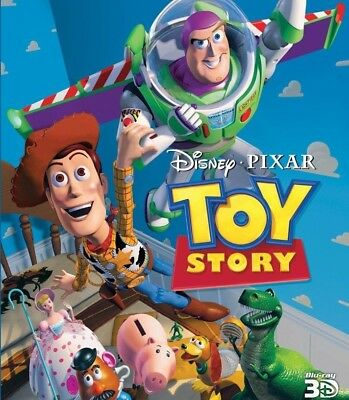 Toy Story - Disney / Pixar (3D Blu-ray, disk only) voiced by Tom Hanks