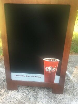 "DR PEPPER SIGN MENU BOARD Advertising 35"" X 24"""