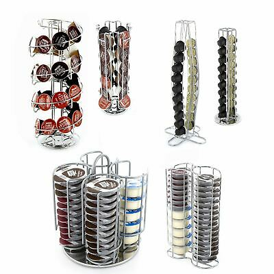 New Coffee Pod Capsule Stand Tower Rack Dolce Gusto Dispenser Rotating Standing