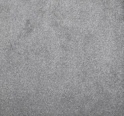 SOFT DENSE 11mm Thick Light Grey Action Back Carpet 4m Wide £10.50m²