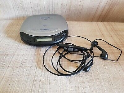 Panasonic SL-S130 Portable CD Player Personal CD Vintage Collectors Working.