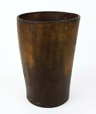 Antique Horn Beaker - Scottish Cattle Cup