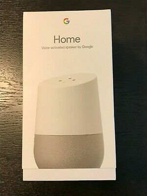 Google Home Voice Activated Speaker (Ga3A00417A14) - Brand New Sealed In Box