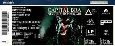Capital Bra & Friends Open Air Köln Tickets 07.07. Tanzbrunnen Gucciland