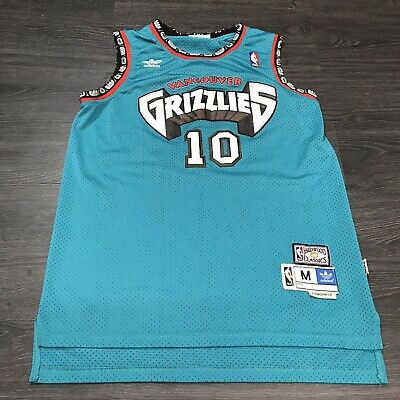 100% authentic 75806 f80f4 NEW MIKE BIBBY Vancouver Grizzlies Hardwood Classics ...