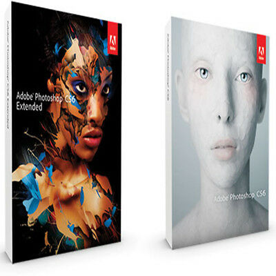 Adobe Photoshop Extended CS6 - Deutsch Pc Vollversion Windows -