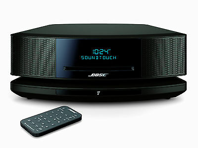 Bose Wave Soundtouch Music System IV Bluetooth Wifi CD MP3 AM/FM Espresso Black