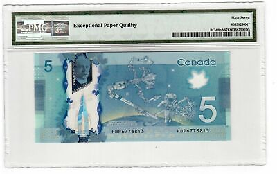 BC-69bA 2013 $5 HBP 6773813 Single Note Replacement (SNR) PMG Superb GemUnc-67