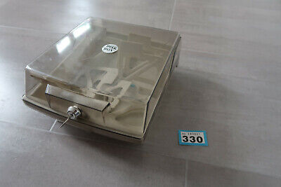 "80 3.5"" Floppy Disk Storage container with dividers Amiga Atari st PC"