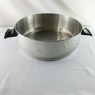 Rena Ware Stainless 18/8 Dome Lid Pan Pot Ultra Ply 4 L 4.2 Qt Multi Ply USA
