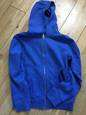 Next Boys hooded top with front zip Age 12 VGC