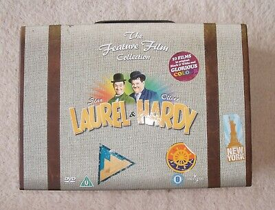 Laurel and Hardy The Feature Film Collection ~ 10 DVD Box Set
