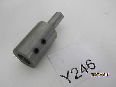 Pipe Tap Driver extension Tool Holder 508072 Adapter 1/2'' Shank, ID .6''