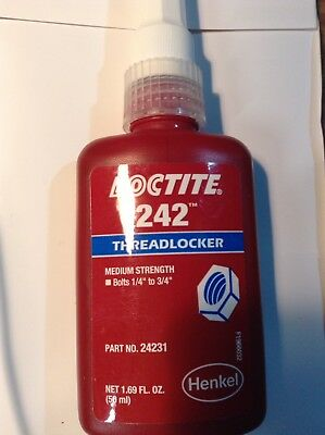 Loctite 242 Medium Strength -50ml - exp. 2020 This will be my last stock of this