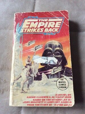 Star Wars The Empire Strikes Back Book The Marvel Comics 1980 Vintage
