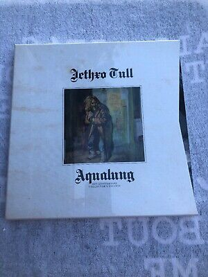 Aqualung 40th Anniversary Deluxe Edition CD/LP/DVD/Blu-Ray by Jethro Tull SEALED