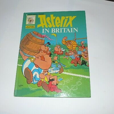 Asterix & Obelix Vintage Comic Hardcover - Asterix In Britain