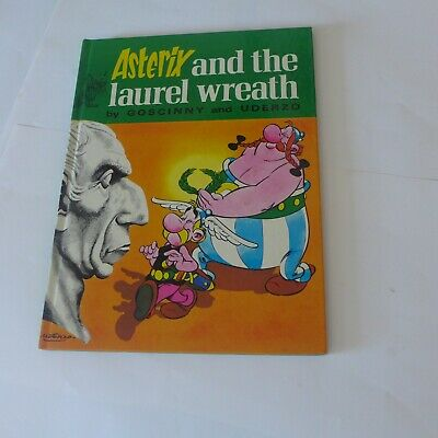 Asterix & Obelix Vintage Comic Hardcover - Asterix & The Laurel Wreath