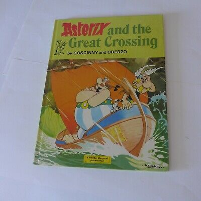 Asterix & Obelix Vintage Comic Hardcover - Asterix & The Great Crossing