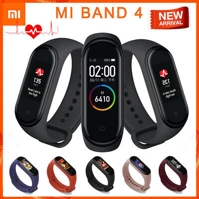 Xiaomi Mi Band 4 Smart Watch AMOLED Screen Bracelet Sport Tracker Armbanduhr TA