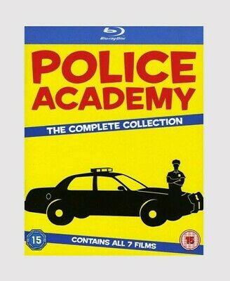 Police Academy: The Complete Collection Blu-ray Comedy/Crime/Action Movie