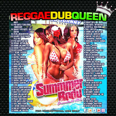 CD Johnny - Summer Body Dancehall Mixtape. Reggae Mix CD. July 2019