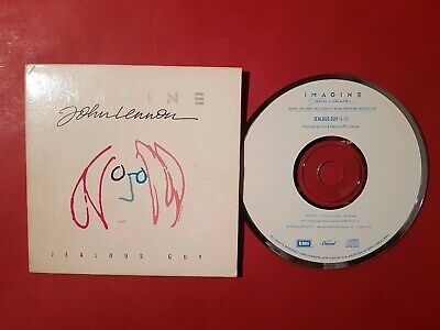 John Lennon USA promo CD single Jealous Guy 1988