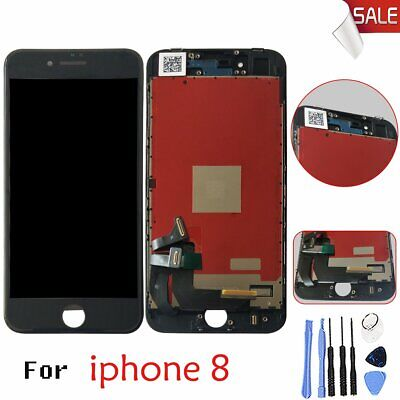 Touch Screen For iPhone 8 Black Digitizer Assembly Replacement Front Glass