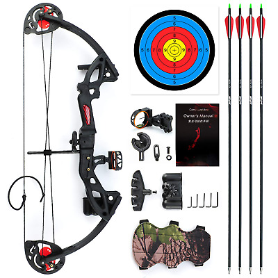 Evercatch Youth Compound Bow 15-29lbs for Kids Teenager Junior Target Hunting