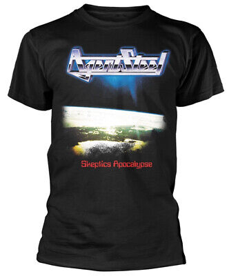Agent Steel 'Skeptics Apocalypse' (Black) T-Shirt - NEW & OFFICIAL!