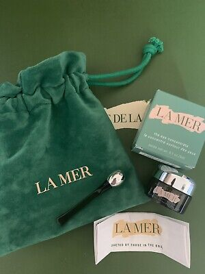 La Mer The Eye Concentrate Deluxe Size 3ml New Boxed & Silver Wand And Pouch