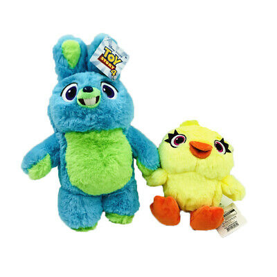 2PC/Set Pixar Toy Story 4 Bunny And Duck Cute Soft Plush Stuffed Doll Kids Gift