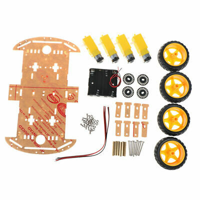 Smart Car 4WD Robot Car Chassis Kits With Geared Motor DIY Assembly For Arduino