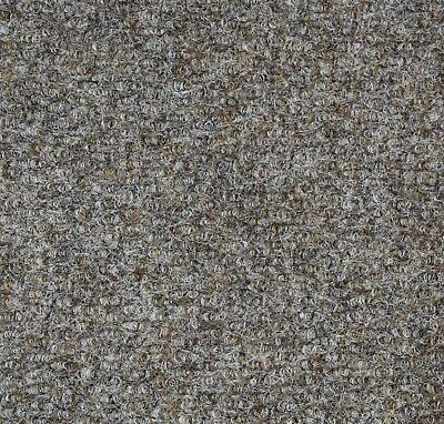 Very Hardwearing 5mm Thick Gel Back Loop Pile Carpet 2m Width £7.99sqm