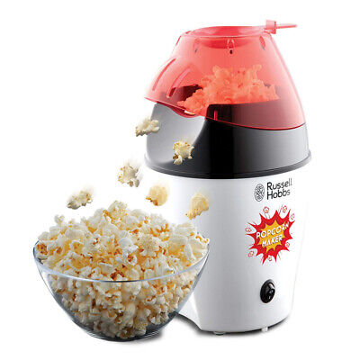 Russell Hobbs 24630 Popcorn Pop Corn Maker 1290 Watts - White